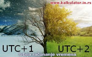 zimsko i letnje računanje vremena srbija