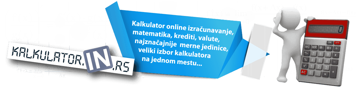 Kalkulator online izračunavanje